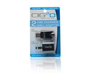 USB Charger / Wall Adapter 2-Pack