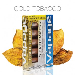 Gold Tobacco Refill Cartomizer (Cartomizers)