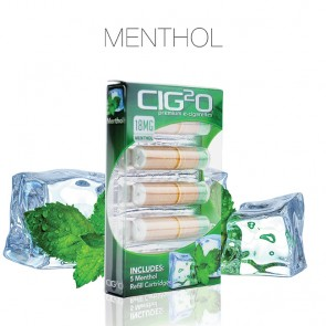Classic Menthol Refill Cartomizers Polybox by Cig2o (Cartomizers)