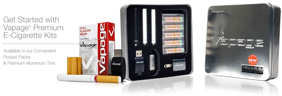Vapage Electronic Cigarette Starter Packs